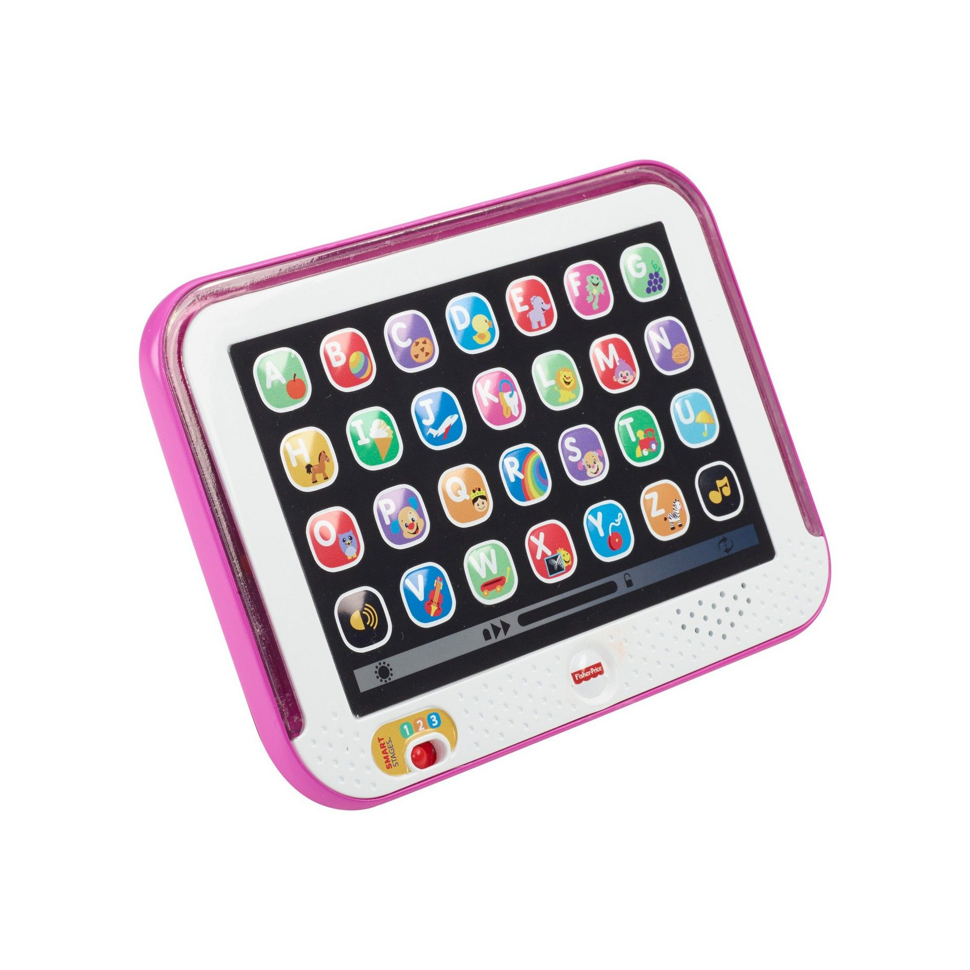Fisher Price Laugh Learn Smart Stages Tablet Pink Baby Girl Toys Fisher Price Toddler Learning