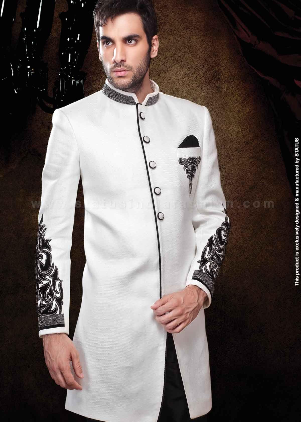 Velvet sherwani, indian wedding wear, groom sherwani, best sherwani ...