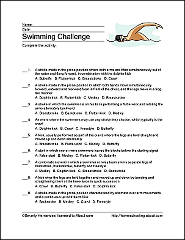 Swimming Word Search Crossword Puzzle And More Swimming Swimming Quotes Swimming Motivation