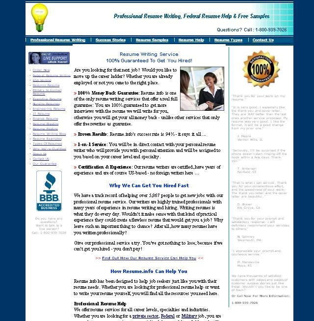 resume review service templates resume template builder httpwwwjobresume - Professional Resume Writers Reviews