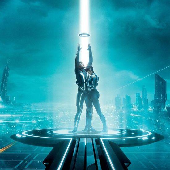 Tron Universe – IPad Wallpaper