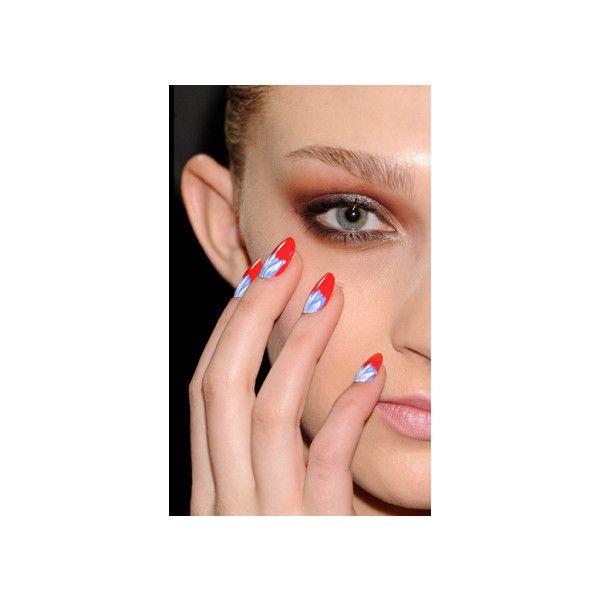 CND Blog Rachel Antonoff Fall 2012 Presentation Starry Night Nails found on Polyvore