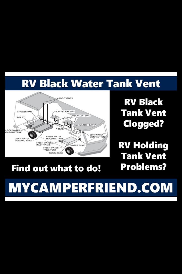 Rv Black Water Tank Vent Water Tank Black Water Rv