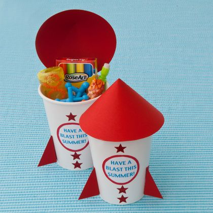 Rockin' Rocket Favors | Crafts | Spoonful