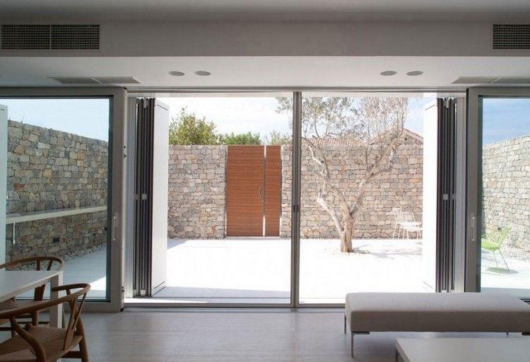 Haus  Garten » Gartenzaun Sichtschutz mit und aus Naturstein