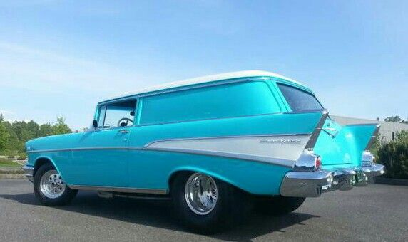 1957 Chevy delivery | Chevy | Classic chevy trucks, Chevy