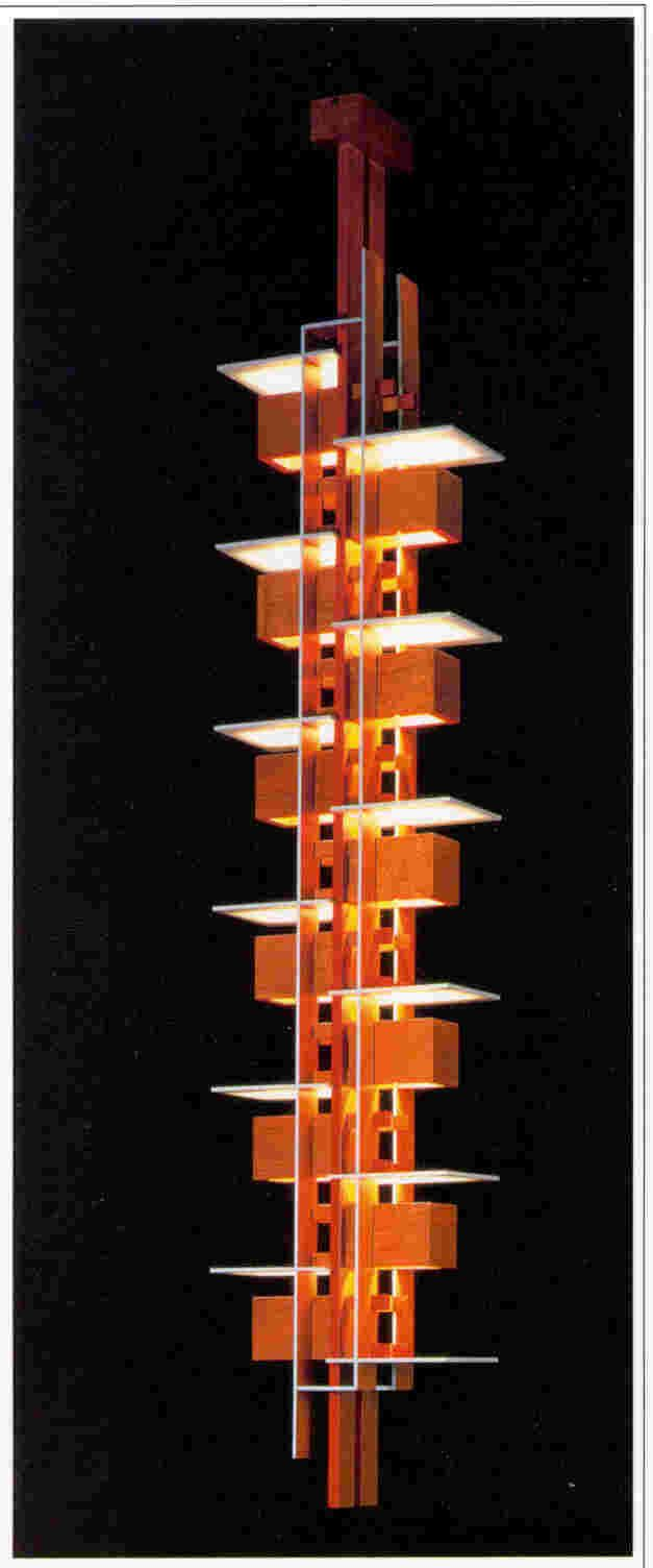 Frank Lloyd Wright Taliesin 11 Pendant Lamp 1955
