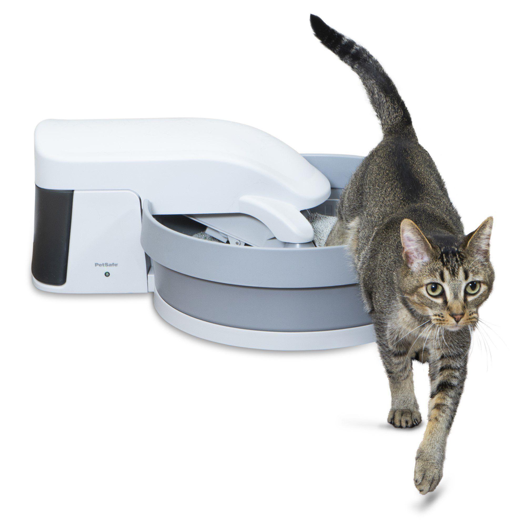 Petsafe Simply Clean Cat Litter Box Medium Automatic Litter Box Self Cleaning Litter Box Cleaning Litter Box