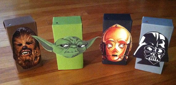 Star Wars Theme Juice Box Covers by monamigabby on Etsy, $42.00