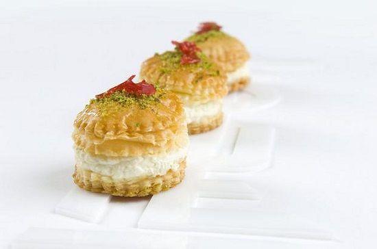 طريقة عمل حلى ورد الشام الرائع طريقة Recipe Desserts Arabic Sweets Sweets