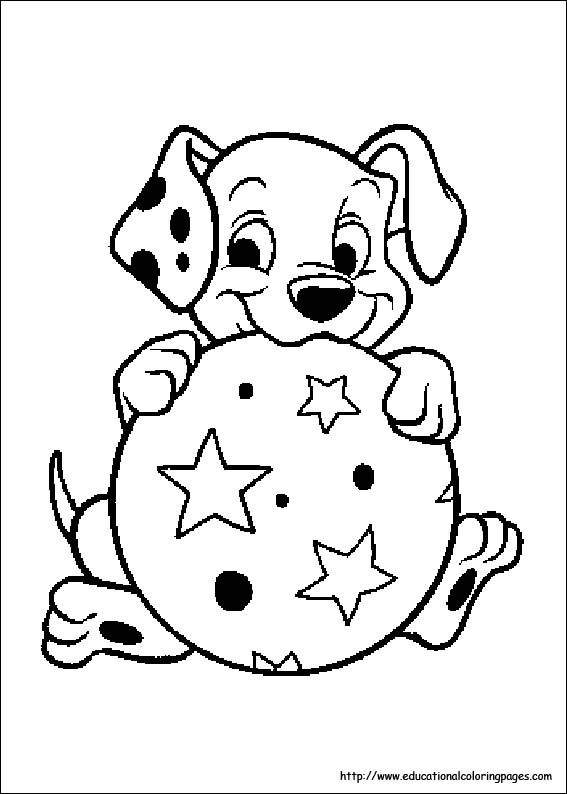 101 Dalmation Coloring Pages Puppy Coloring Pages Disney