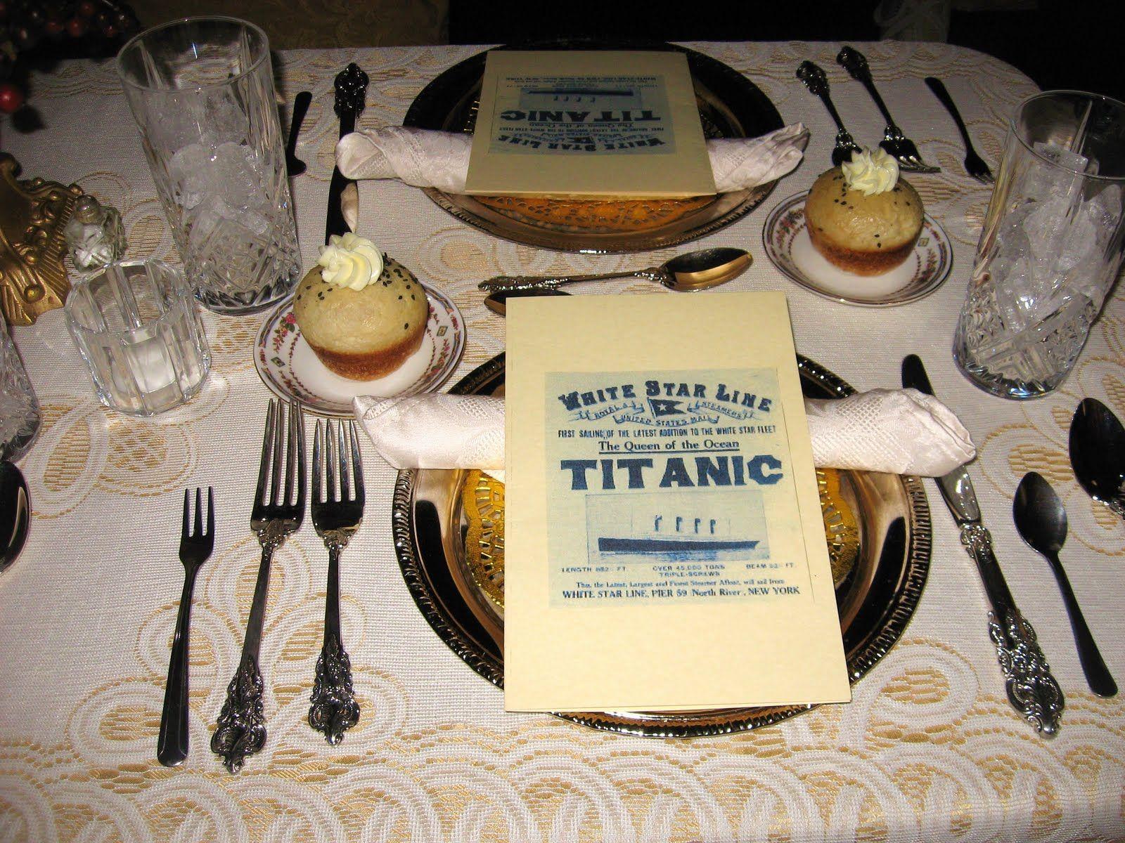 Prom Dinner Party Ideas Part - 38: Titanic Theme Party | Photographer/Author John Thomas Grant
