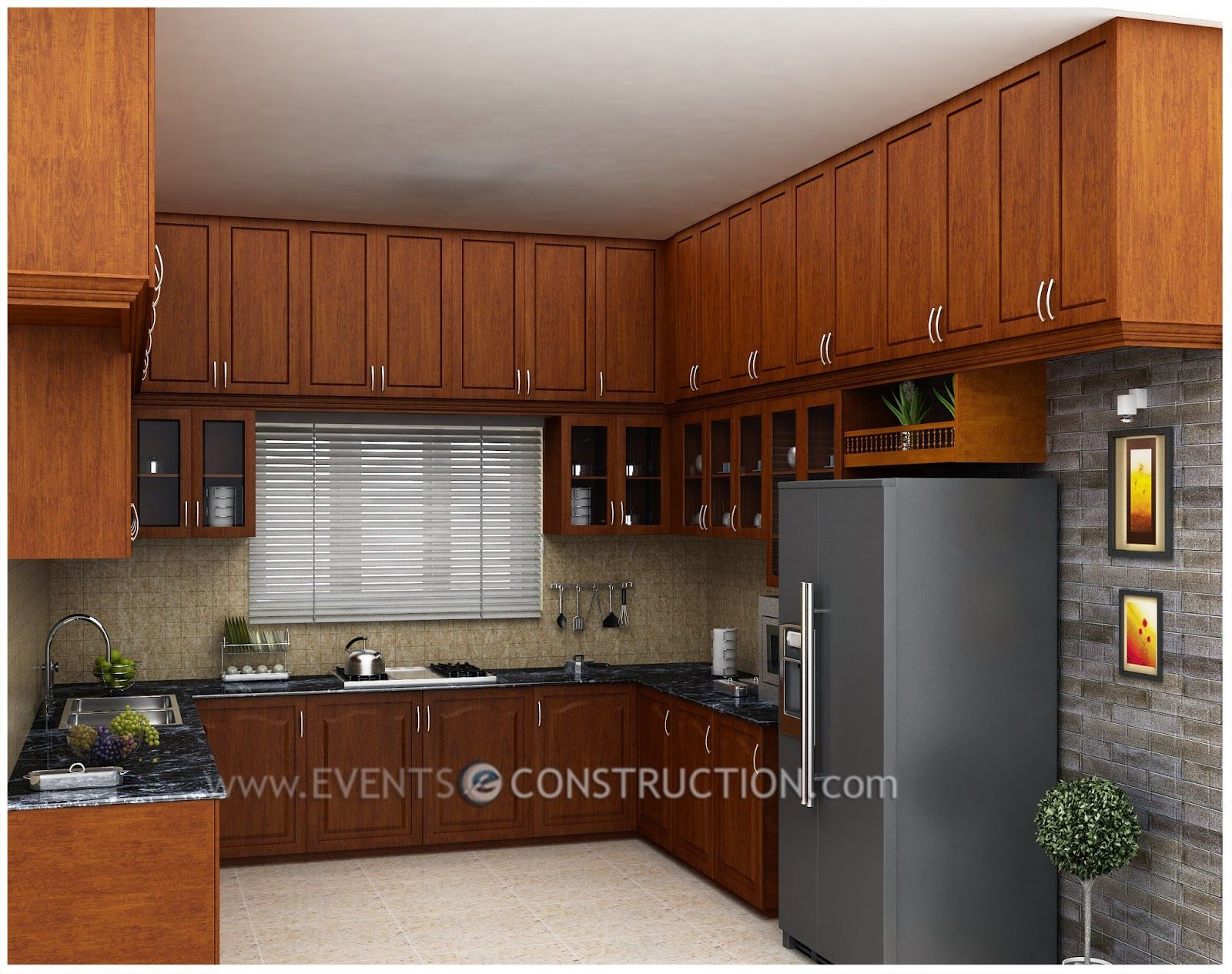 Exceptionnel Kitchen Interior Designs Kerala Style Modular Home Design Amazing .