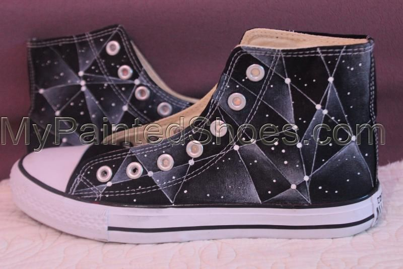 c7cf2cf4182c13 Galaxy Converse Chuck Taylor Men Women High Top Canvas Sneakers ...
