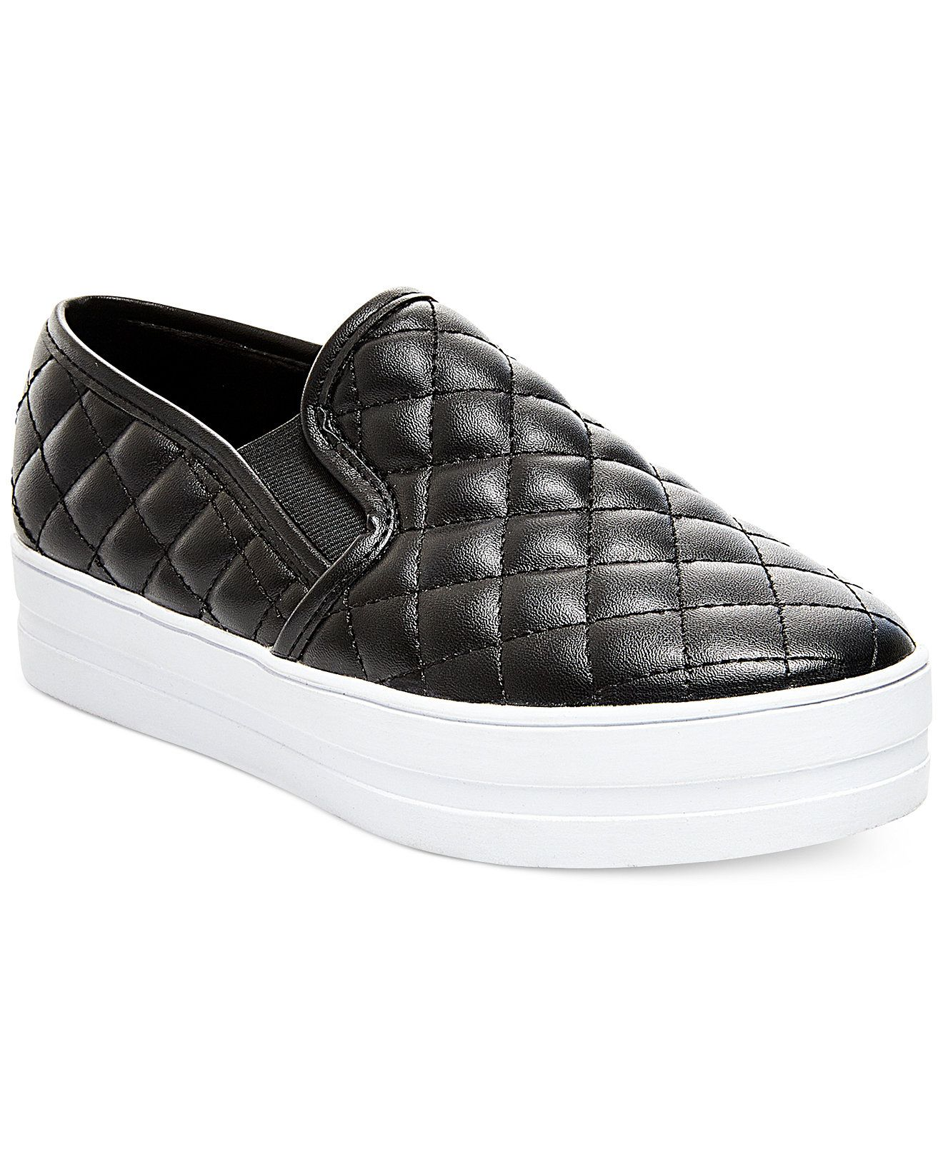 Madden Girl Plaaya Quilted Flatform Slip-On Sneakers - Madden Girl - Shoes  - Macy's