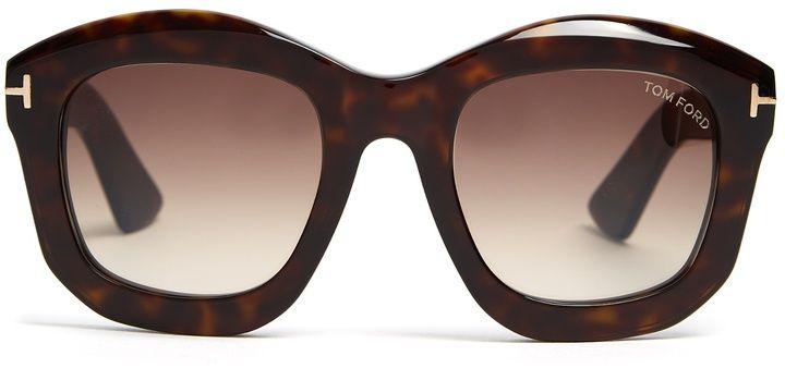 06cef91b4eb  affiliatead -- TOM FORD EYEWEAR Julia square-frame sunglasses --  chic