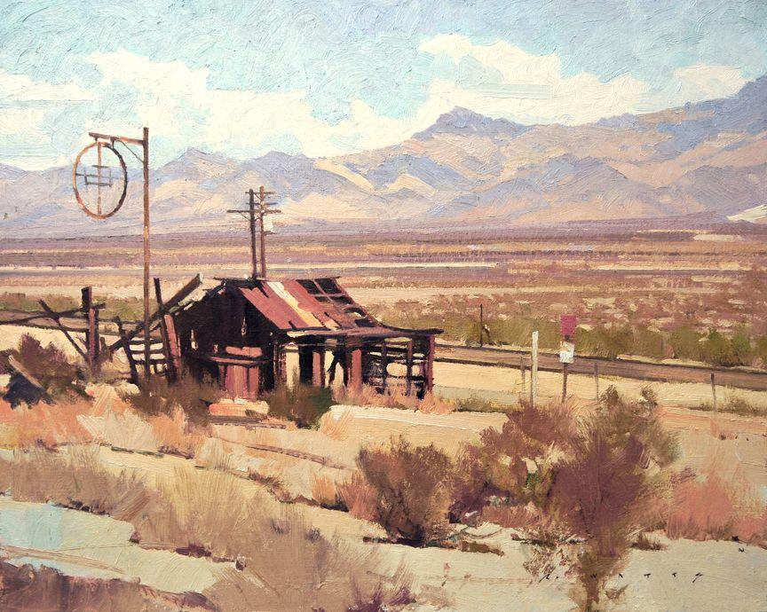 Robert Watts, California landscapes, Plein Air Landscapes