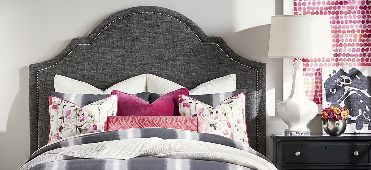 Bonnet Queen Headboard | Bassett Bedrooms | Pinterest