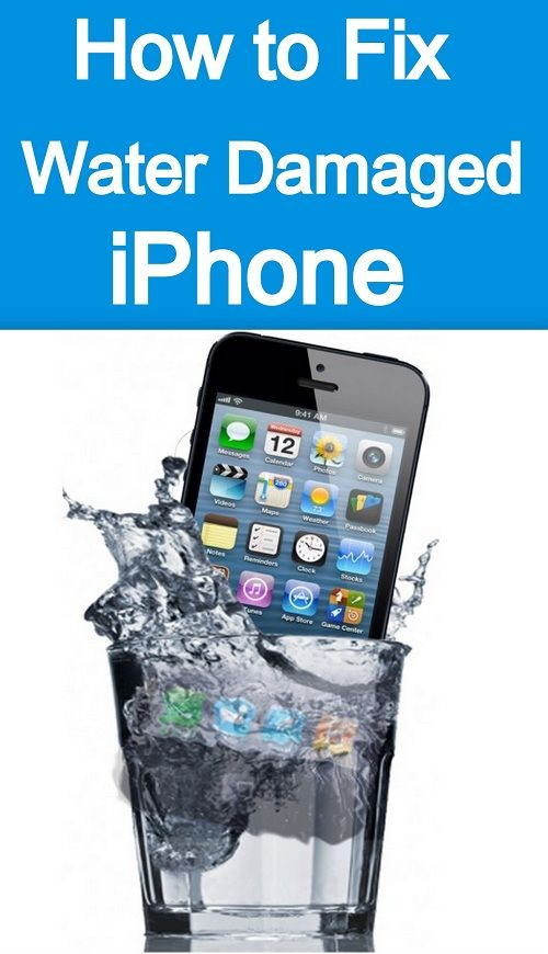 Here is How to Save your Water Damaged iPhone ! Step by step guide