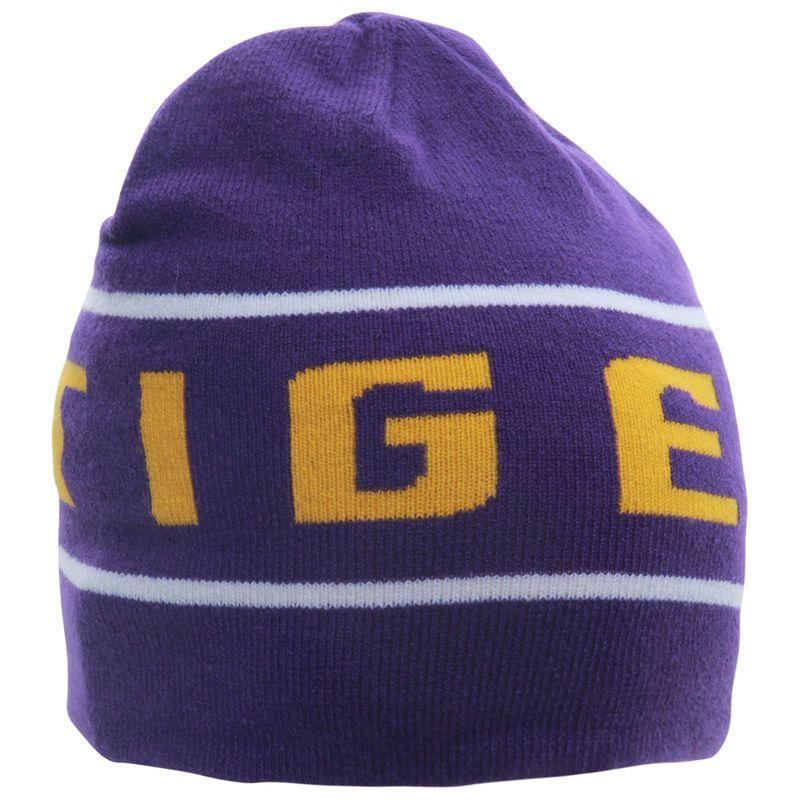 info for 02b15 b5f8b LSU Tigers Nike Player Knit Beanie - Purple