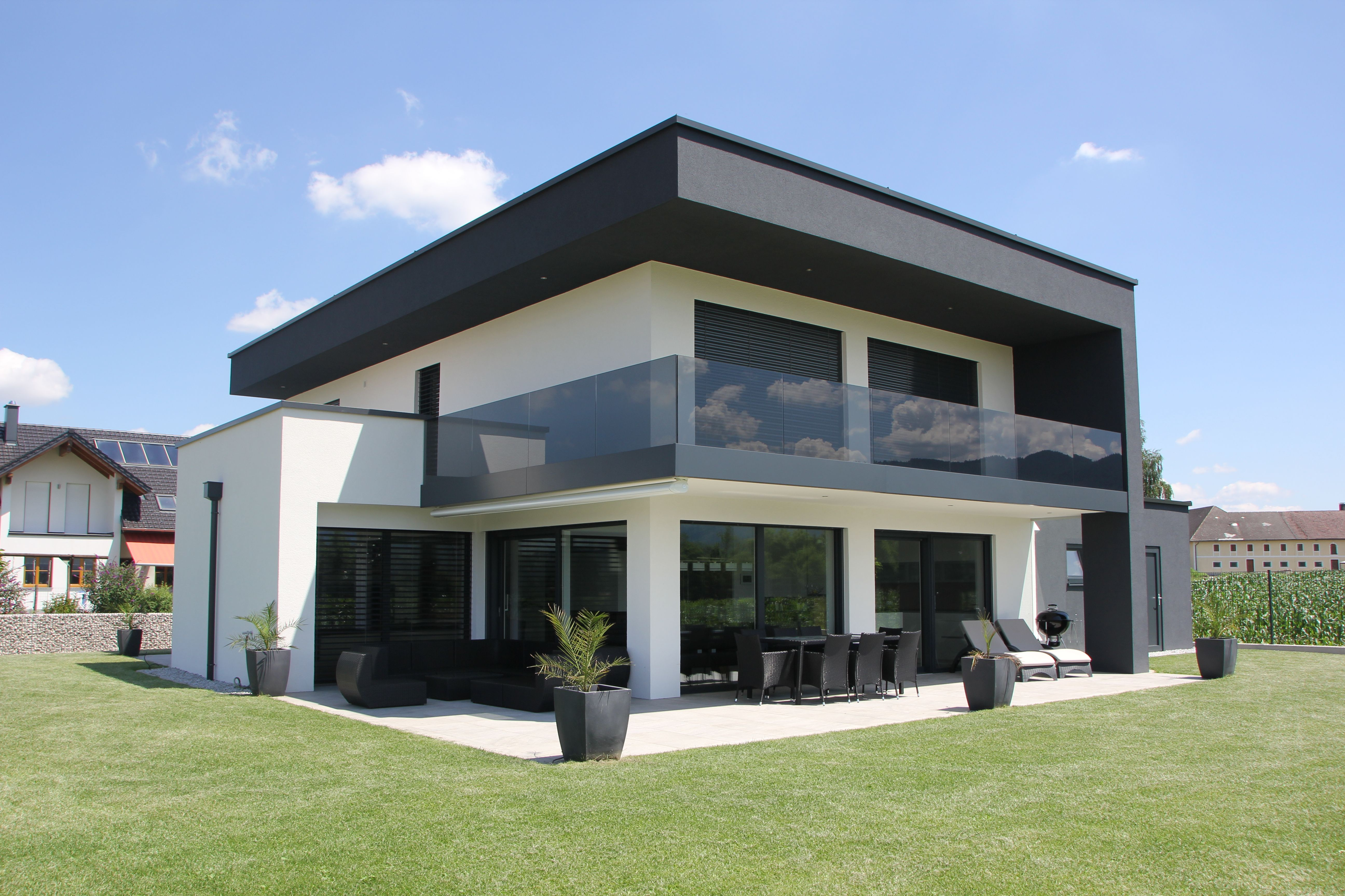 das moderne ziegelhaus von austrohaus haus pinterest h uschen. Black Bedroom Furniture Sets. Home Design Ideas