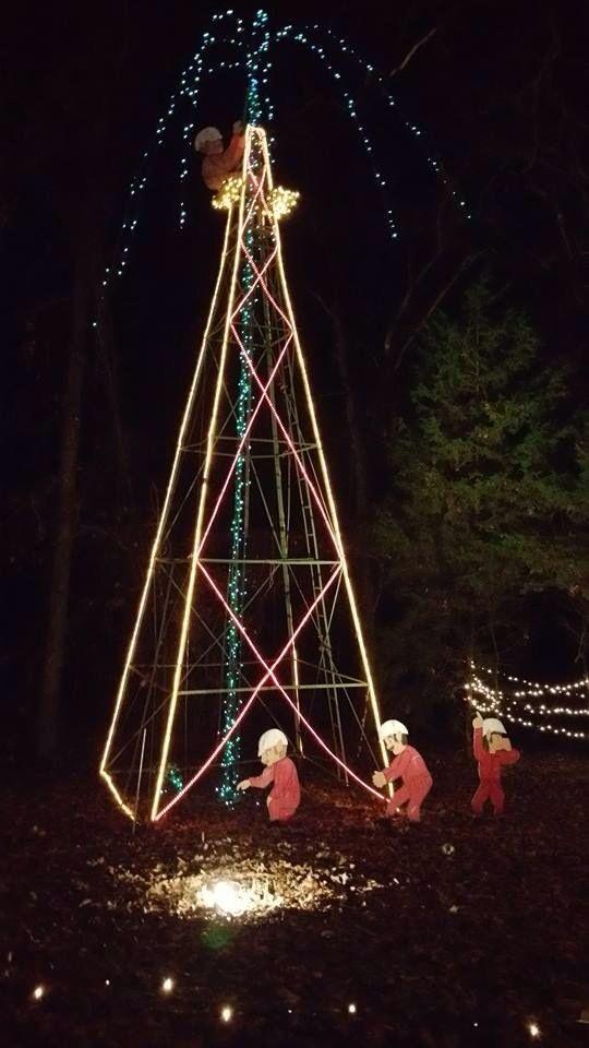 Elf Roughnecks Texas Style Christmas Gift Decorations Oilfield Wife Oilfield Man