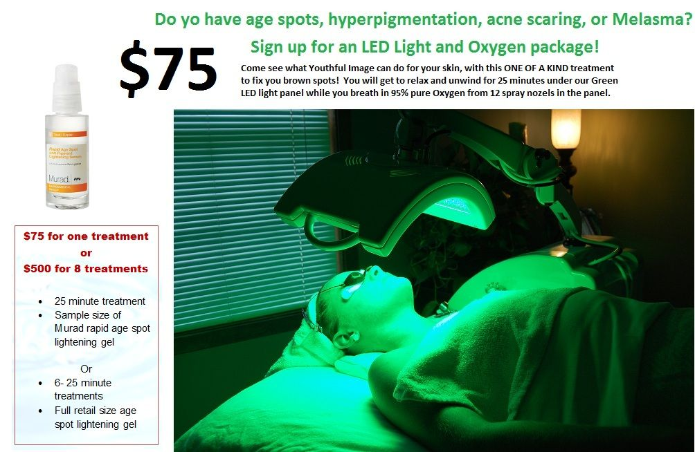 Captivating Green LED Light Therapy For Sun Damage, Hyperpigmentation, Acne Scars,  Melasma And More! Come See Us At Youthful Image Health And Wellness! Design Inspirations