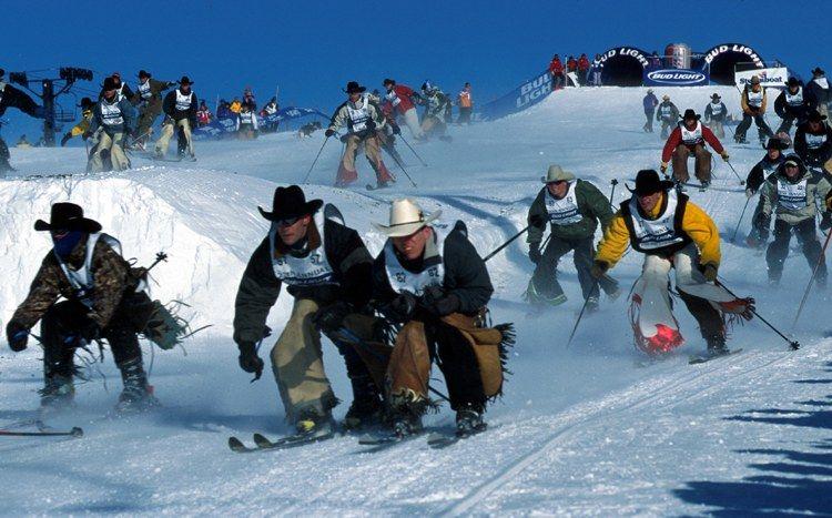 Cowboy Downhill. Colorado.