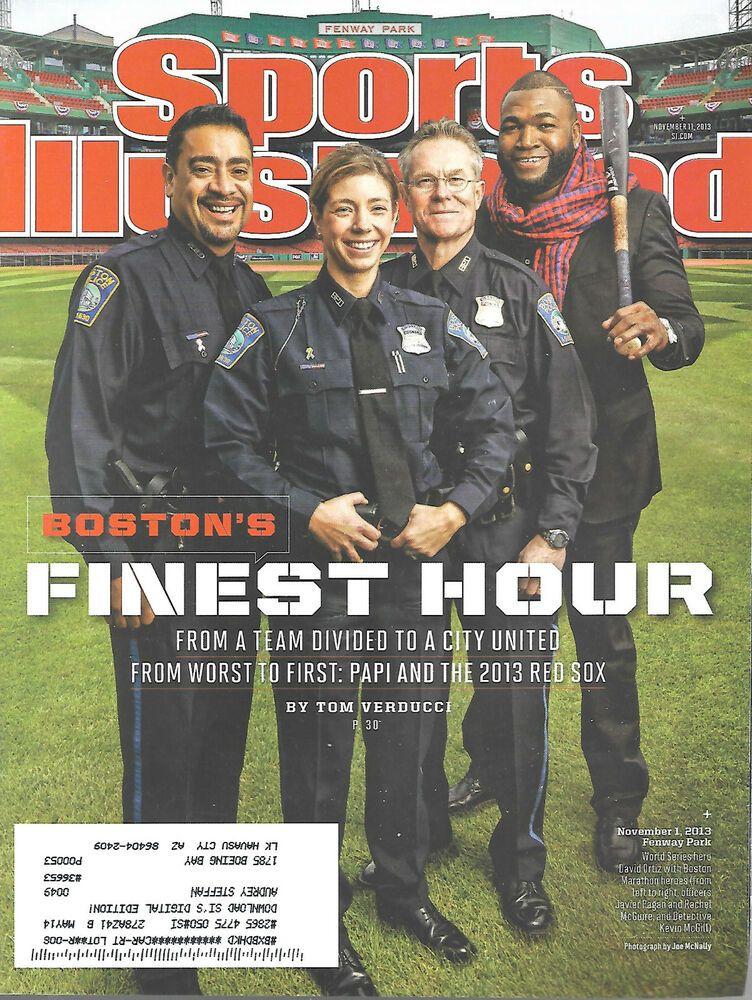 Sports Illustrated Magazine November 11 2013 David Ortiz