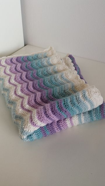 Ravelry Project Gallery For Neat Ripple Pattern By Lucy