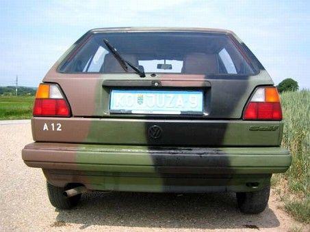 factory price 196e8 7e070 Bundeswehr-GOLF 2 Bilder gesucht!!! - VAGBoard | GOLF II