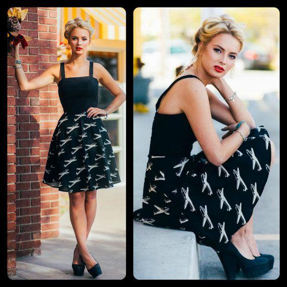 The Rosie Dress by FancyFoxClothing on Etsy, $238.00
