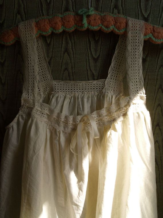 Victorian Inspired Organic Cotton Nightgown Sweet Dreams