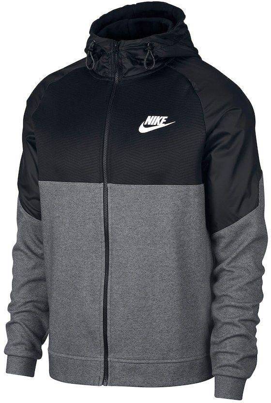 edificio lealtad Facultad  Nike Men's Nike AV15 Full-Zip Hoodie | Full zip hoodie, Hoodies, Nike men
