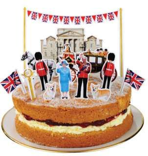 British Party Decorations PARTY CAKE TOPPER DECORATION items in