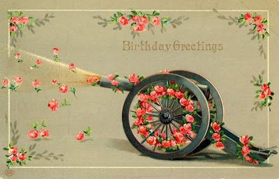 Beautiful Vintage Happy Birthday Postcards