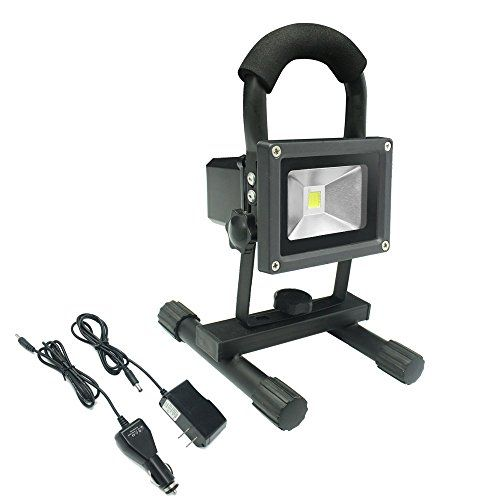 Meikee 10w 760 Lumen Cordless Portable Outdoor Led Recha Https Www Amazon Com Dp B01cqqdygm Ref Cm Sw R Pi Rechargeable Work Light Led Flood Work Lights