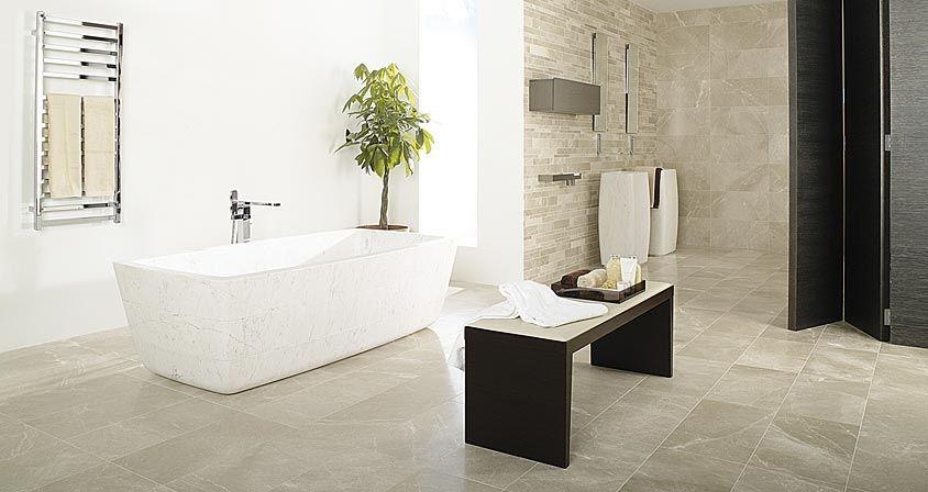 Mosaic Wall Tile Stone Floor Tile Bathroom