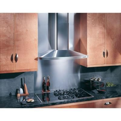 Broan Nutone Elite Rm52000 30 In Convertible Wall Mount Chimney Range Hood With Light In Stainless Steel Rm523004 The Home Depot Kitchen Exhaust Range Hood Chimney Range Hood