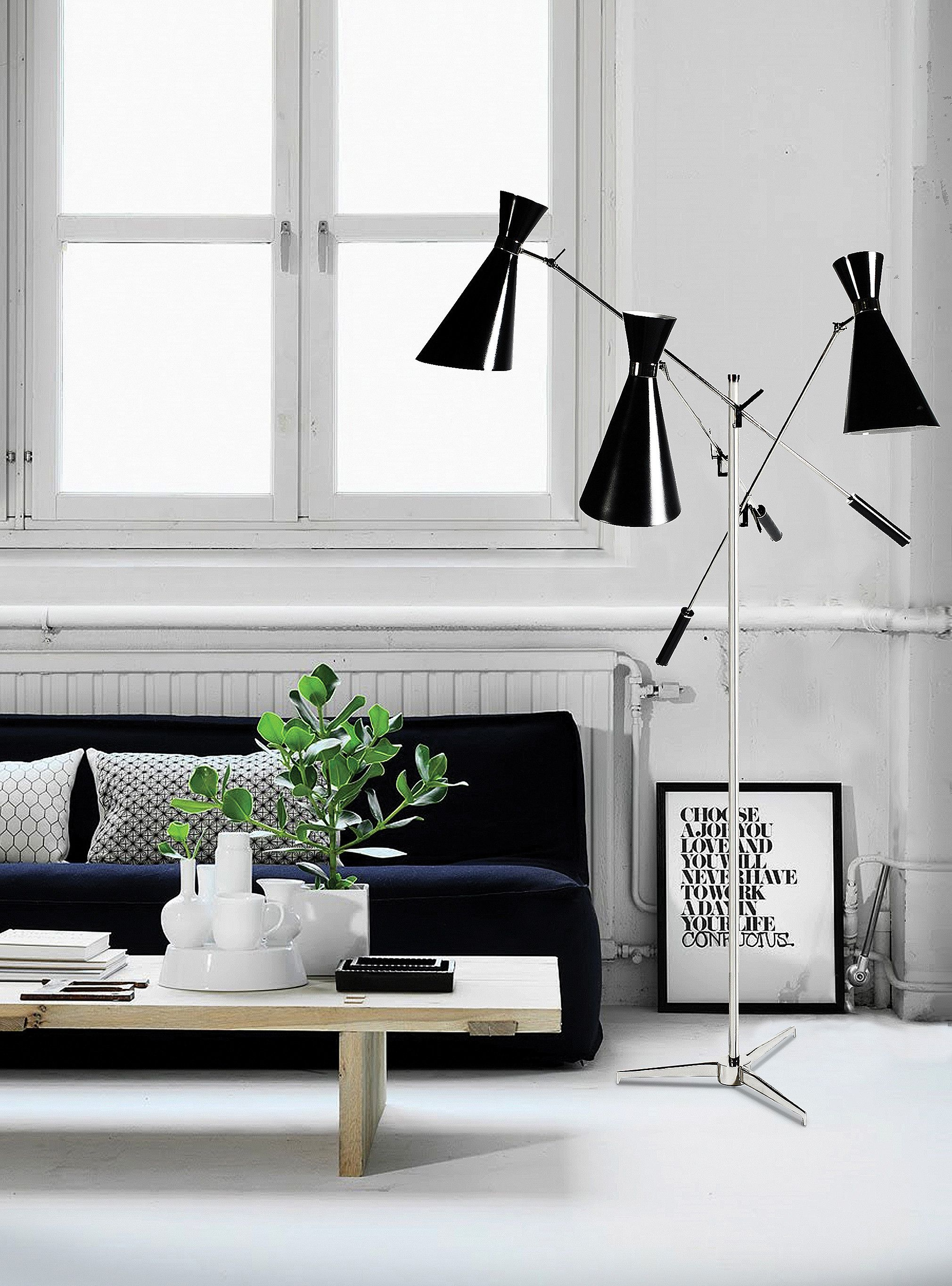 unique modern living room ideas black and white