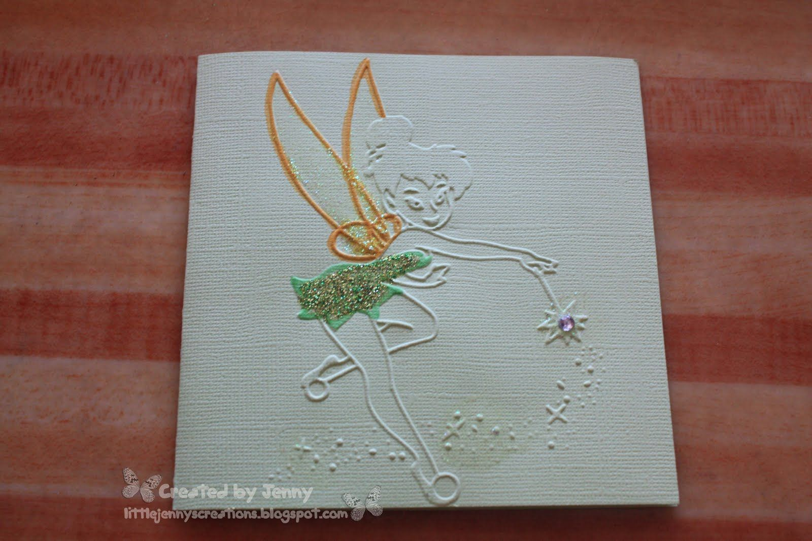 Jenny's Creations: Tinkerbell and friends Invitation