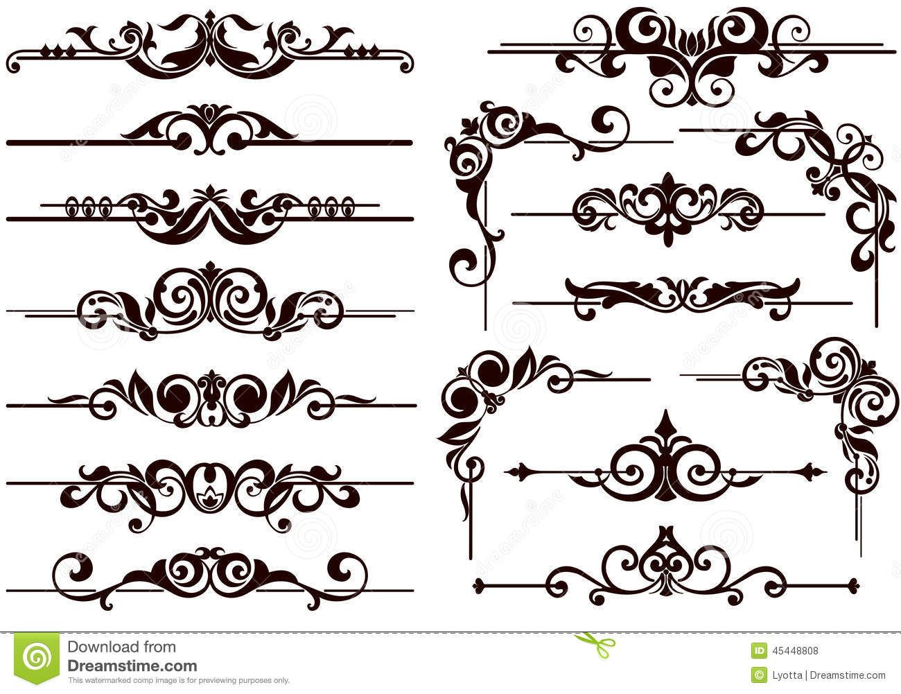 08cbe7f6ec2 Vector Ornaments Frames