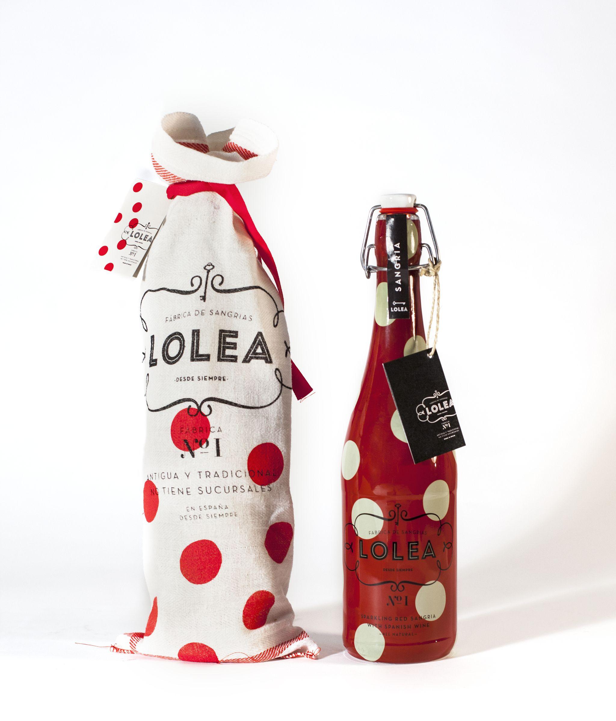 Sangria Lolea Diseno Grafico Comunicacion Campanas Publicitarias Identidad Corporat Graphic Design Packaging Packaging Labels Design Food Packaging Design