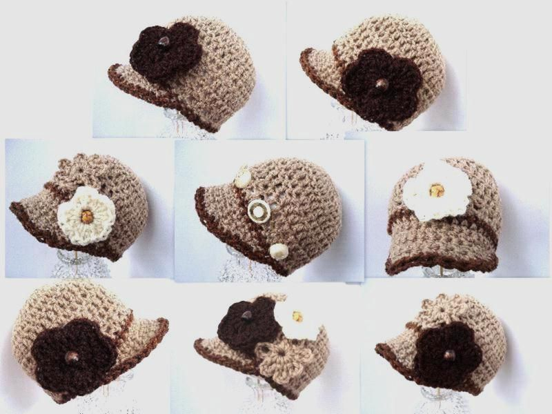 Crochet hat ~ would be so cute on the girls. | Handmade Crafts ...