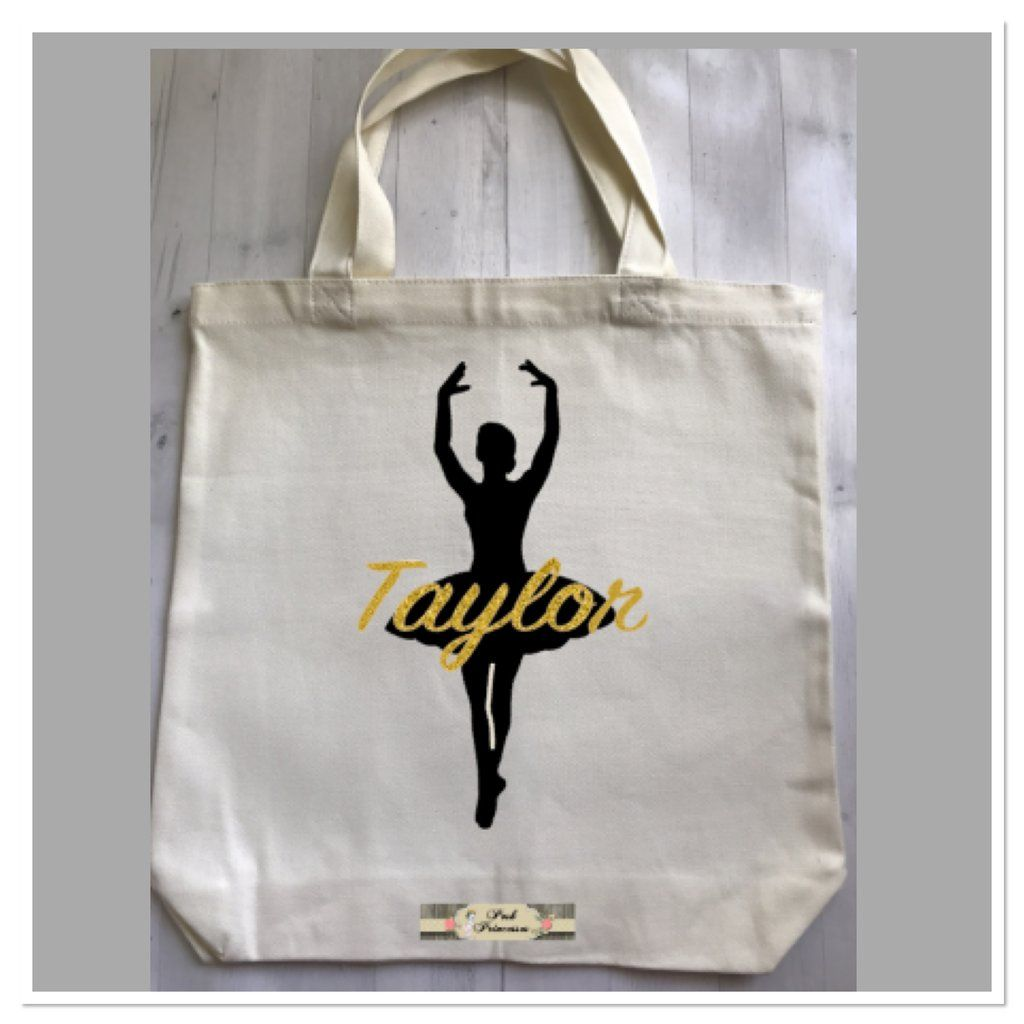 kilofly Ballerina Ballet Tutu Dance Bag Handy Pouch Sports Duffel Travel Gift