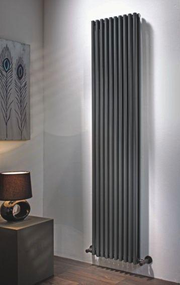Designer Living Room Radiators: Volcano Vertical Radiator, 570, Shop In Wandsworth