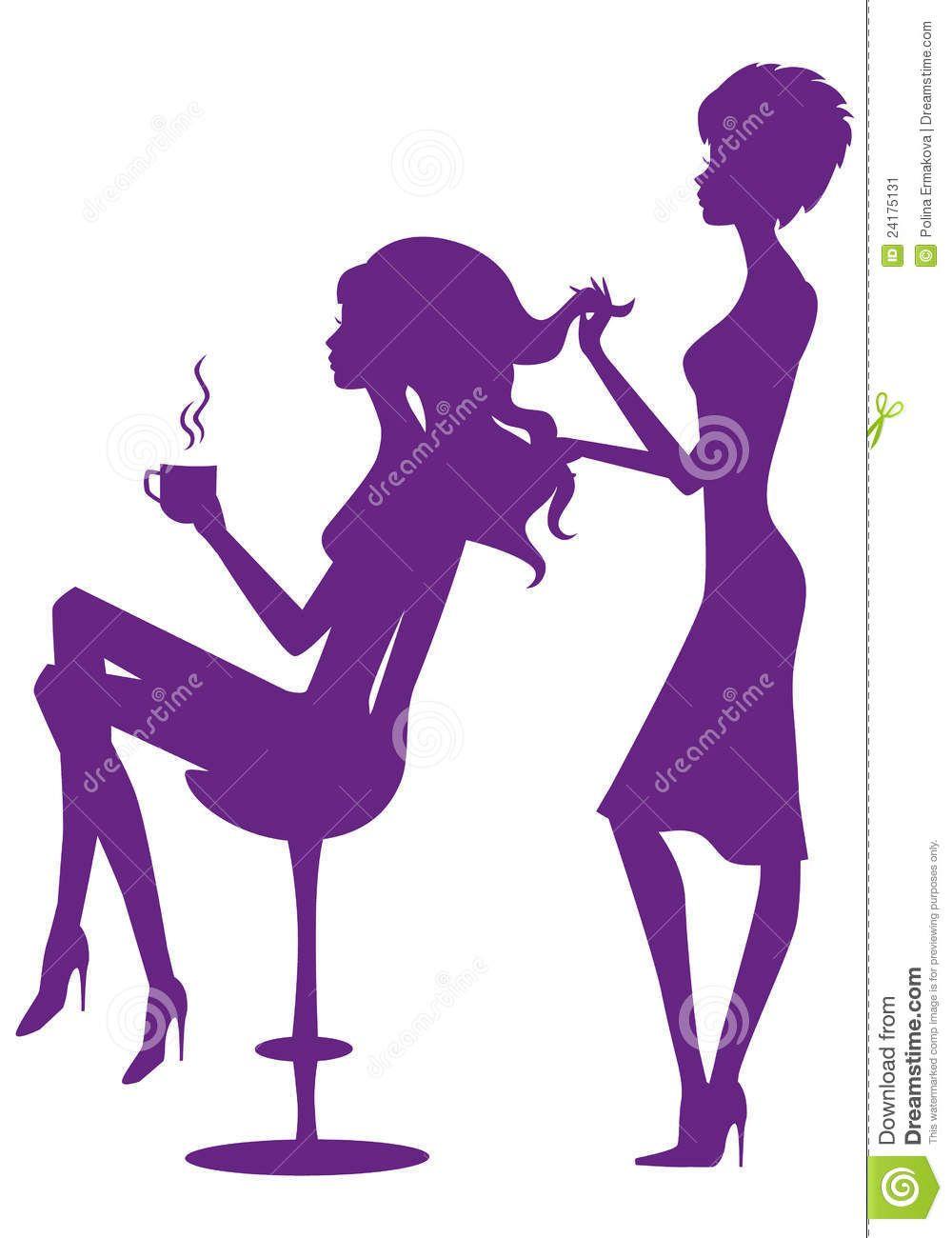 hair beauty salon clip art 725392 jpg 1000 1300 my salon rh pinterest com black hair stylist clipart hair stylist tools clipart
