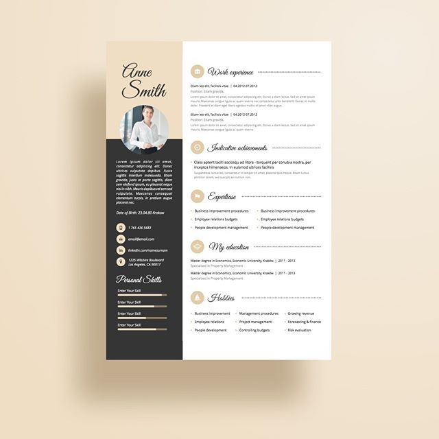 Creative and professional resume template in microsoft word  Cv with     Creative and professional resume template in microsoft word  Cv with modern  and clean design Day 73 resume   resume  microsoftword  cv  resumes  re