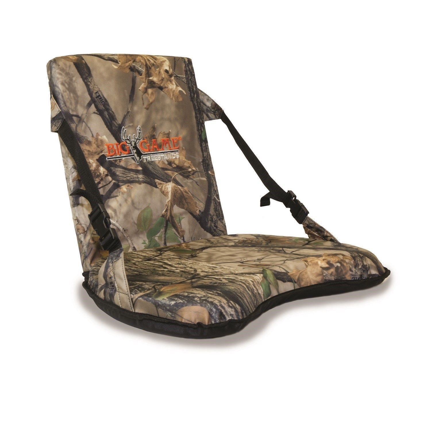 Seats And Chairs 52507: Big Game Treestands Complete Seat Ground Blind W  Backrest Camo Stadium