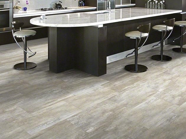 Sunset Strip Larrabee 5m213 00244 Resilient Sample Shaw Floors Kitchen Flooring Trends Flooring Trends Kitchen Flooring